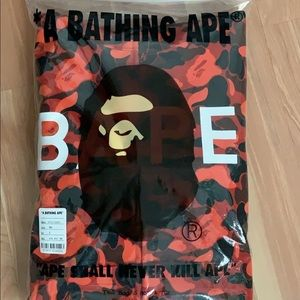 BAPE XO The Weeknd Camo Hoodie size small